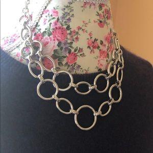 Alfani Hoop Necklace
